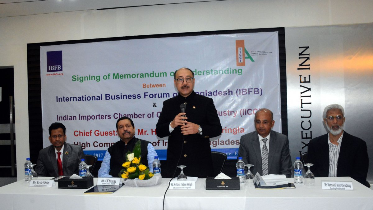 IBFB-IICCI MOU Signing Ceremony