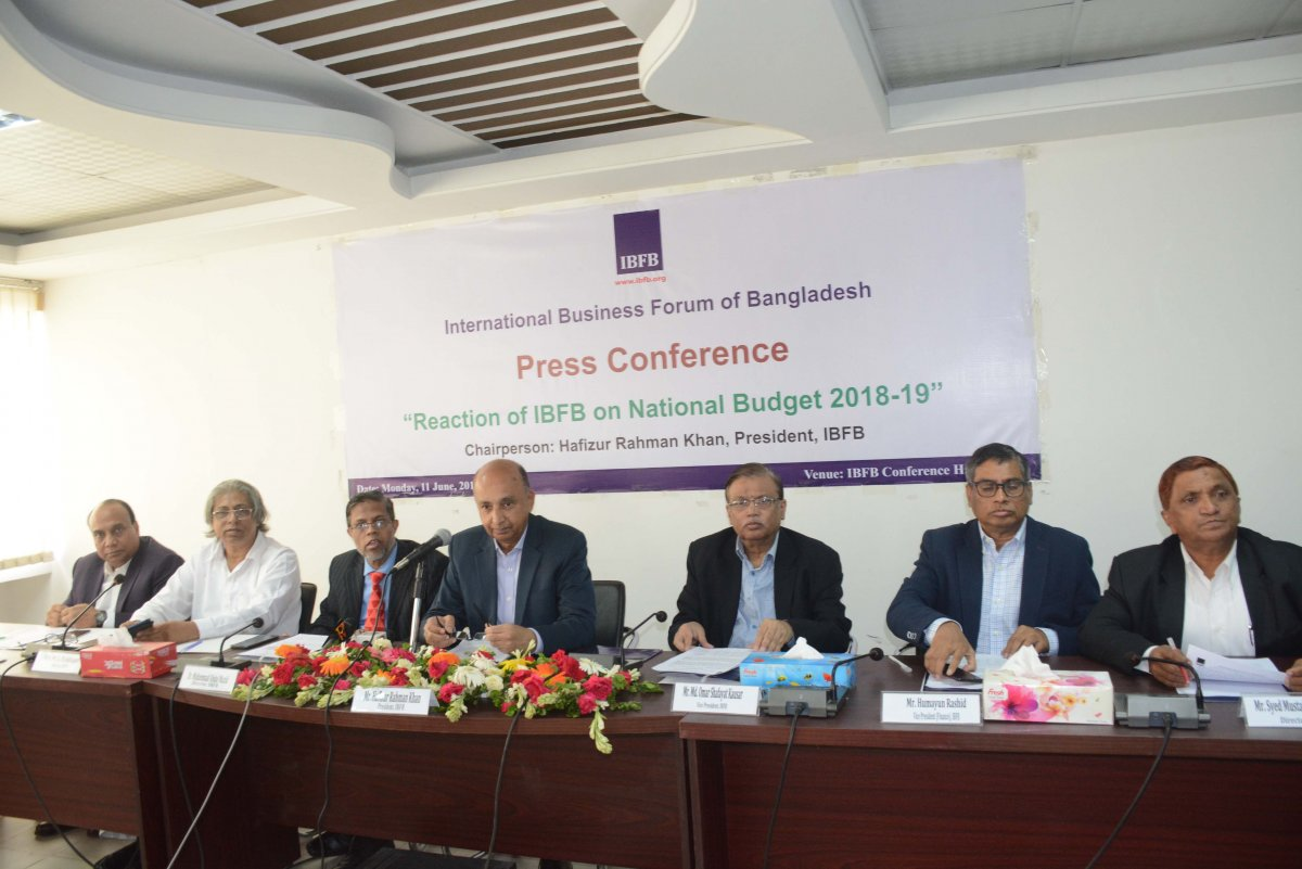 Reaction of IBFB on National Budget 2018-19